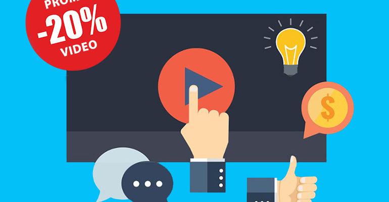 Promo aprile: 20% di sconto sui video aziendali!