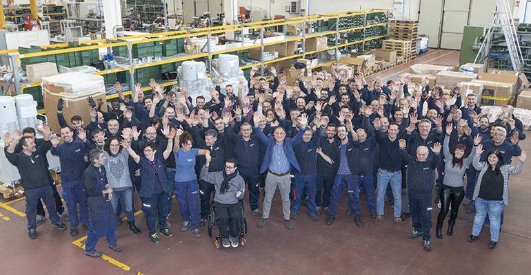 Dò il benvenuto a OMGM Group di Imola