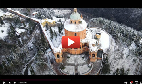San Luca into the white – Bologna è una Favola in 4k