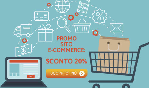 Promo marzo: 20% di sconto per il tuo nuovo sito E-commerce!