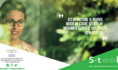 Sit in Motion: la brochure moderna d'impatto per la vostra azienda…