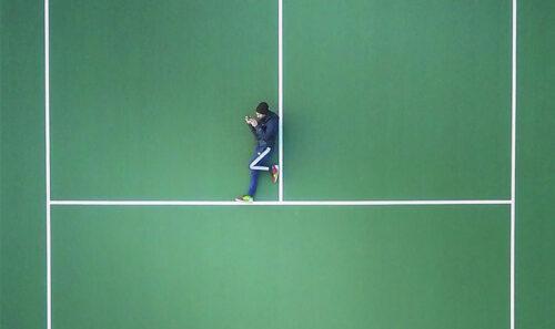 Vola il drone sui Circoli Tennis bolognesi…