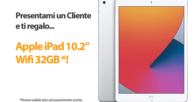 Sumweb ti regala un fantastico Apple Ipad 10,2″ da 32GB!