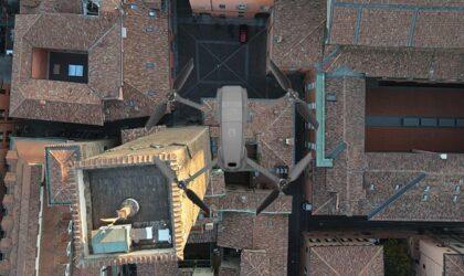 Ispezioni con drone di tetti condominiali capannoni industriali Bologna