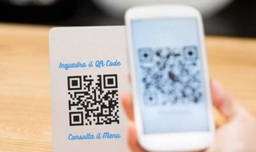 Realizzazione di menù digitali Qr Code per ristoranti pizzerie bar Bologna