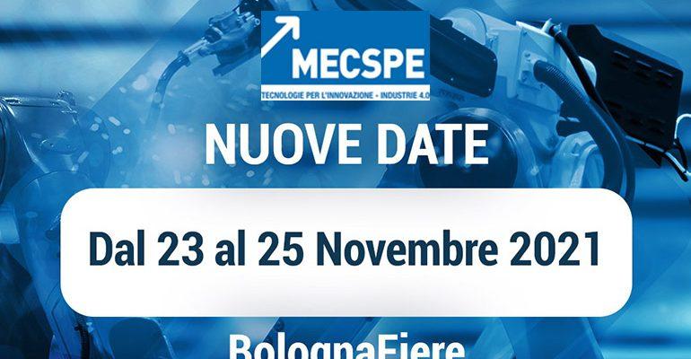 Sei Espositore al Mecspe 2021 di Bologna?